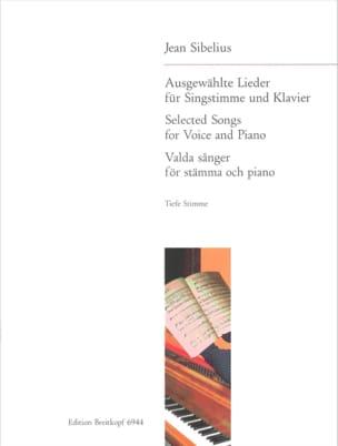 15 Ausgewählte Lieder. Voix Grave - Jean Sibelius - laflutedepan.com