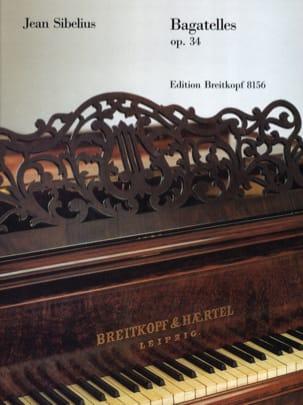 Bagatelles Opus 34 - Jean Sibelius - Partition - laflutedepan.com