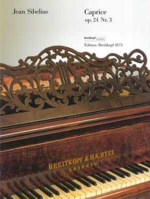 Caprice Op. 24-3 - Jean Sibelius - Partition - laflutedepan.com