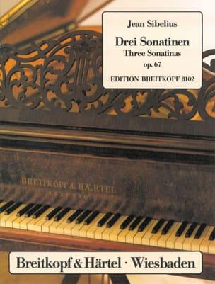 3 Sonatines Opus 67 - Jean Sibelius - Partition - laflutedepan.com