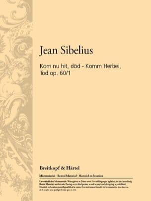 Jean Sibelius - Komm Herbei Tod Op. 60-1 - Partition - di-arezzo.fr