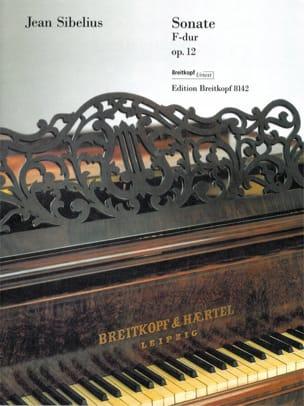 Jean Sibelius - Sonata for piano in F major Opus 12 - Partition - di-arezzo.com
