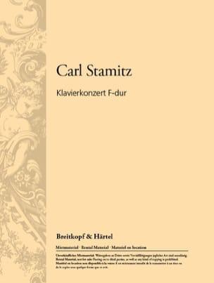 Klavierkonzert F-Dur - Karl Stamitz - Partition - laflutedepan.com