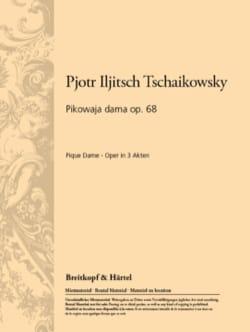 Piotr Illitch Tchaikovsky - Mes Douces Compagnes, Amies. la Dame de Pique - Partition - di-arezzo.fr