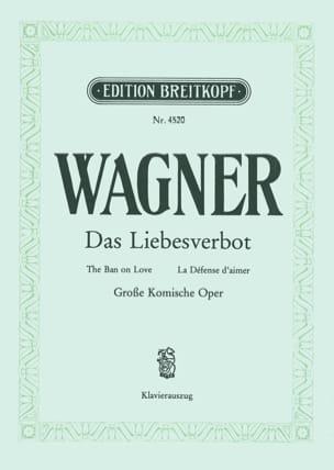 Das Liebesverbot - Richard Wagner - Partition - laflutedepan.com