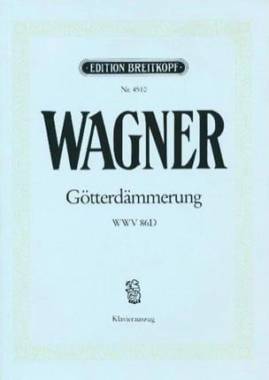 Richard Wagner - Götterdämmerung Wwv 86d - Partition - di-arezzo.fr