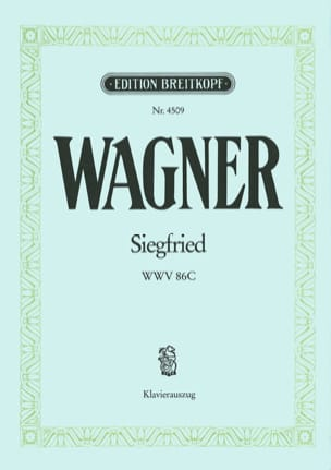 Siegfried Wwv 86c - Richard Wagner - Partition - laflutedepan.com