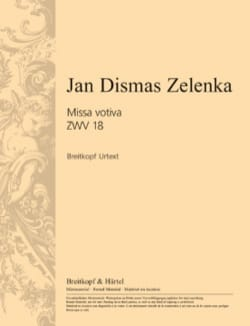 Jan Dismas Zelenka - Missa votiva in E minor ZWV 18 - Sheet Music - di-arezzo.co.uk