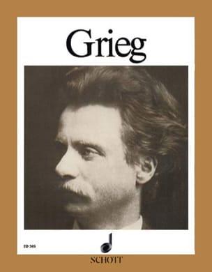 15 bekannte Stücke - Edward Grieg - Partition - laflutedepan.com