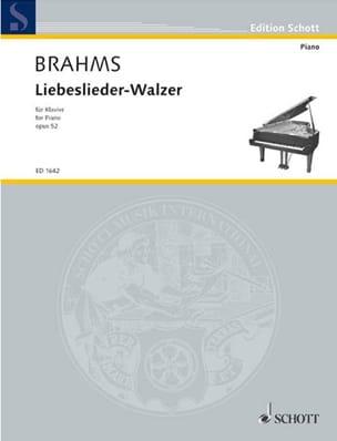 18 Liebeslieder-Walzer Op. 52 - BRAHMS - Partition - laflutedepan.com
