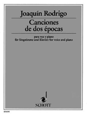 5 Canciones de 2 Epocas - Joaquin Rodrigo - laflutedepan.com