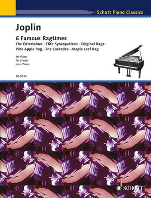 Scott Joplin - 6 ragtime - Partitura - di-arezzo.it