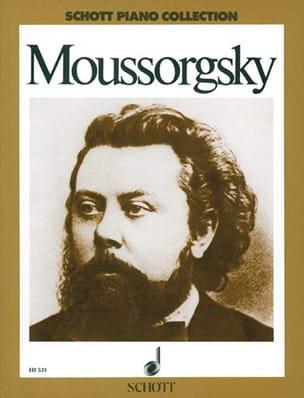 Ausgewählte Stücke Modest Moussorgsky Partition Piano - laflutedepan