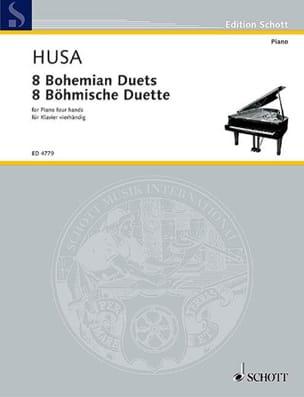 8 Böhmische Duette. 4 Mains - Karel Husa - laflutedepan.com
