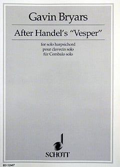 After Handels Vesper 1995 - Bryars - Partition - laflutedepan.com