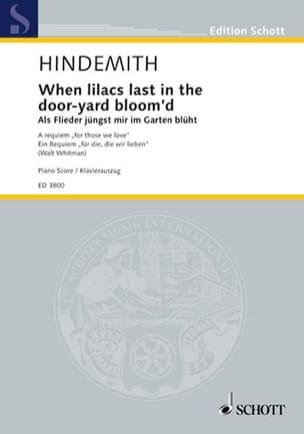 When Lilacs Last In The Dorr-Yard Bloom'd. Als Flieder Jüngst Mir Im Garten .. - laflutedepan.com