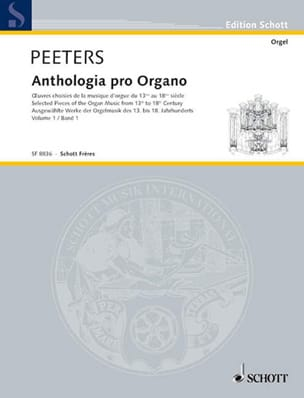 - Anthologia Pro Organo Bd1 - Sheet Music - di-arezzo.co.uk