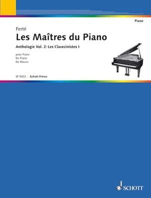 Les Maîtres Du Piano Volume 2. les Clavecinistes 1 laflutedepan