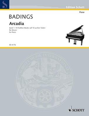 Arcadia Vol 1 - Henk Badings - Partition - Piano - laflutedepan.com