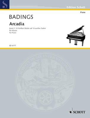 Arcadia Vol 2 - Henk Badings - Partition - Piano - laflutedepan.com