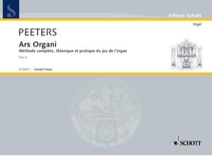 Ars Organi Bd 2 Orgel Schule. Flor Peeters Partition laflutedepan
