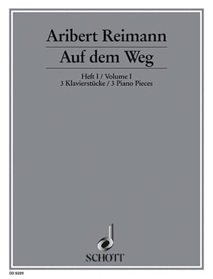 Auf dem Weg Bd 1 (1989/93) - Aribert Reimann - laflutedepan.com