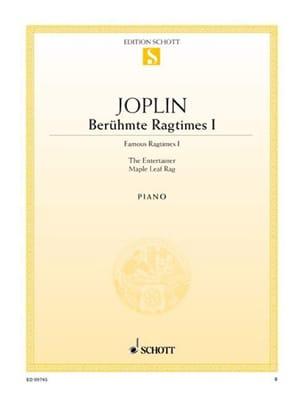 Scott Joplin - Berühmte Ragtimes I - Sheet Music - di-arezzo.com