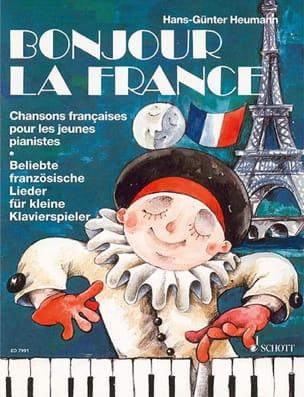Bonjour la France ! - Partition - Piano - laflutedepan.com