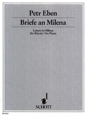 Briefe an Milena - Petr Eben - Partition - Piano - laflutedepan.com