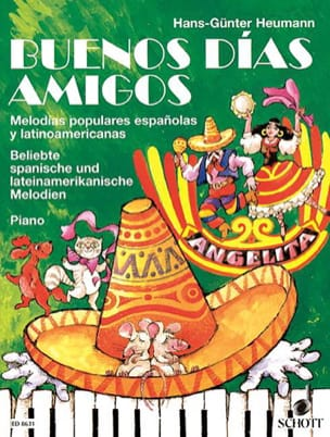 Buenos Dias Amigos - Partition - Piano - laflutedepan.com