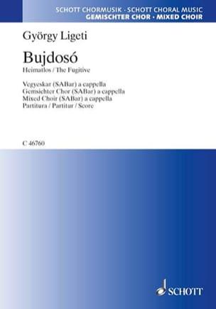 Bujdosó - György Ligeti - Partition - Chœur - laflutedepan.com