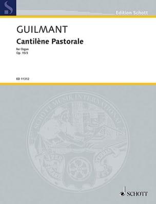 Cantilena Pastorale in B minor, op. 15 - laflutedepan.com