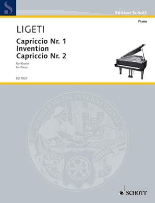 Capriccio N°1. Invention. Capriccio N° 2 György Ligeti laflutedepan