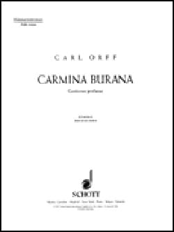 Carl Orff - Carmina Burana Choir Men - Sheet Music - di-arezzo.co.uk
