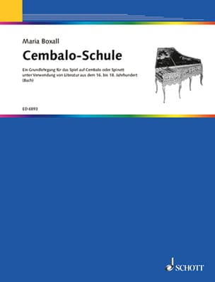 Maria Boxall - Cembalo-Schule - Sheet Music - di-arezzo.co.uk