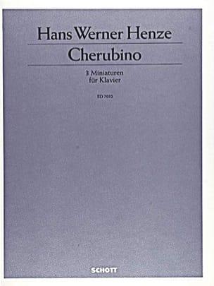 Cherubino (1980/81) - Hans Werner Henze - Partition - laflutedepan.com