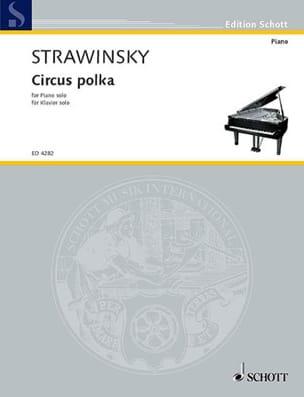 Circus Polka 1942 Igor Stravinski Partition Piano - laflutedepan