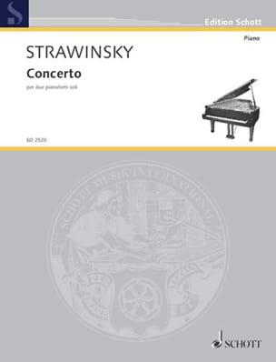 Igor Stravinski - Concerto 1935 - Sheet Music - di-arezzo.co.uk