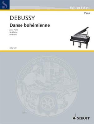 Danse Bohémienne - DEBUSSY - Partition - Piano - laflutedepan.com