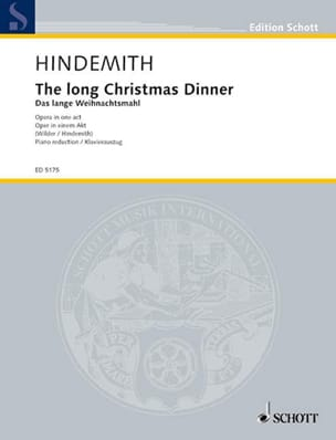 The Long Christmas Dinner - Paul Hindemith - laflutedepan.com