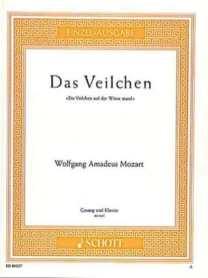 Das Veilchen K 476. - MOZART - Partition - Mélodies - laflutedepan.com