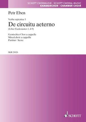De Circuitu Aeterno Choeur Mxt A Cap - Petr Eben - laflutedepan.com