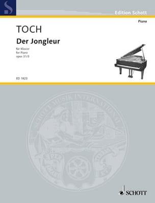 Der Jongleur Op. 31-3 - Ernst Toch - Partition - laflutedepan.com