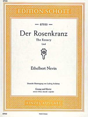 Der Rosenkranz Vx Moyenne - Ethelbert Nevin - laflutedepan.com