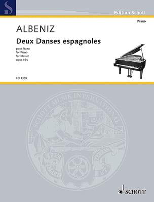 2 Danses Espagnoles Op. 164 - Isaac Albeniz - laflutedepan.com