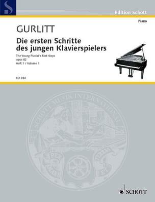 Cornelius Gurlitt - Die Ersten Schritte of the Jungen Klavierspielers Opus 82 Volume 1 - Sheet Music - di-arezzo.co.uk