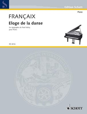 Jean Françaix - Praise of the dance - Sheet Music - di-arezzo.com
