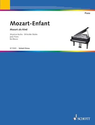 MOZART - Mozart Enfant - Partition - di-arezzo.fr