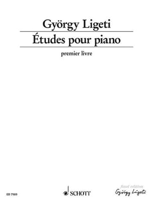 Etudes. Volume 1 (1985) LIGETI Partition Piano - laflutedepan