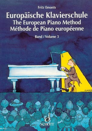 Fritz Emonts - European Method Volume 3 - Sheet Music - di-arezzo.co.uk